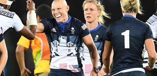Post de Fisher, la deportista total que superó la anorexia y se enamoró del rugby