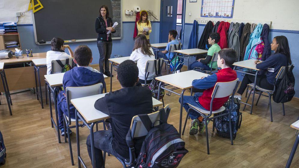 Foto: Unos 66.000 alumnos en Madrid en las pruebas de sexto de Primaria. (Efe)