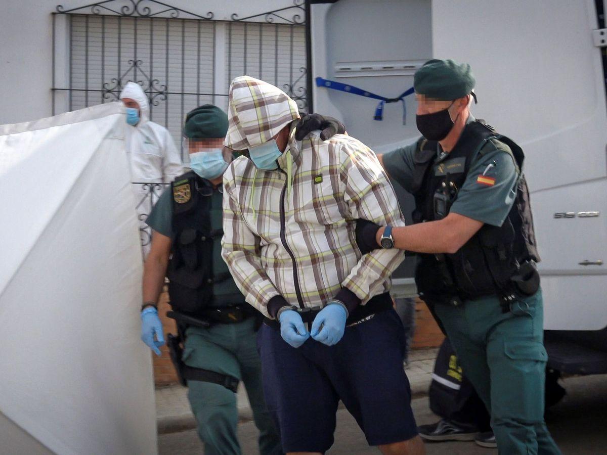 Foto: El detenido por el asesinato de Manuela Chavero. (EFE)