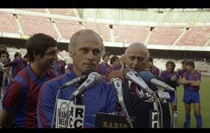 Así era Udo Lattek como técnico azulgrana