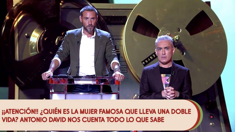 Antonio David Flores y Kiko Hernández. (Mediaset España)