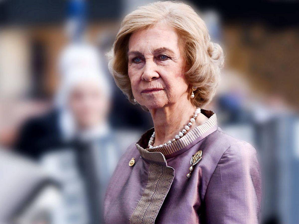 Foto: La reina Sofía en una imagen de archivo. (Getty)