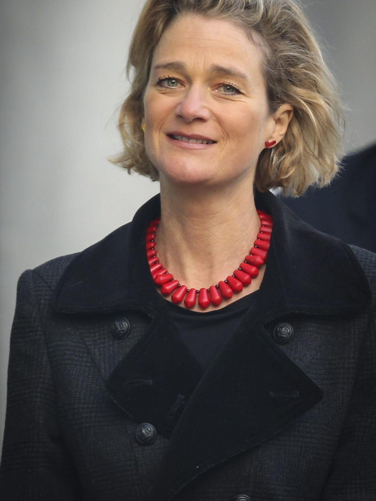 Delphine, en 2014, en pleno proceso judicial. (EFE)