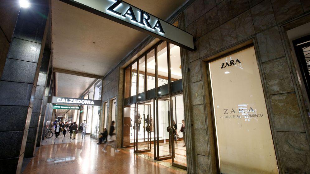 Foto: Entrada a una tienda del grupo Inditex en Italia. (Reuters)
