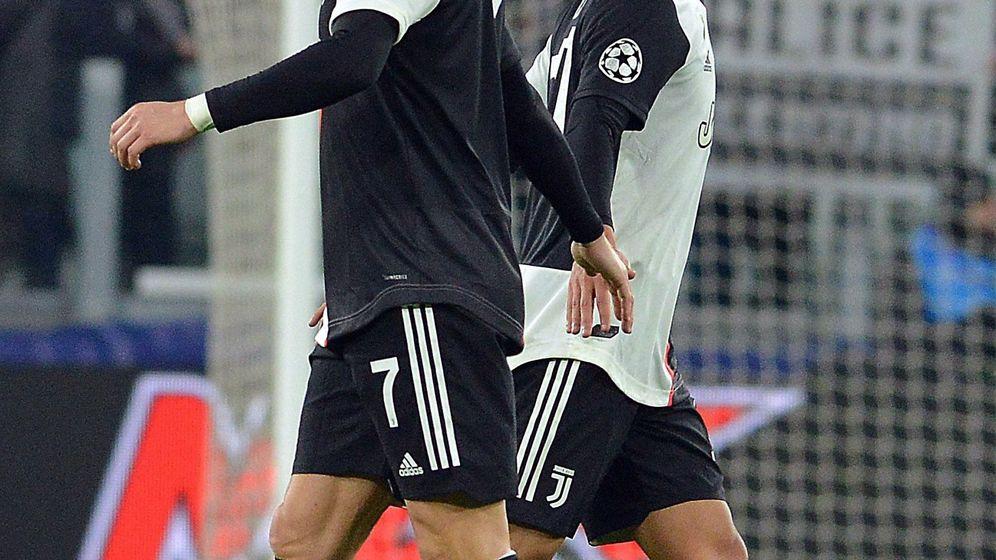 Foto: Cristiano Ronaldo y Dybala formaron la pareja de ataque de la Juventus contra el Atlético de Madrid. (EFE)