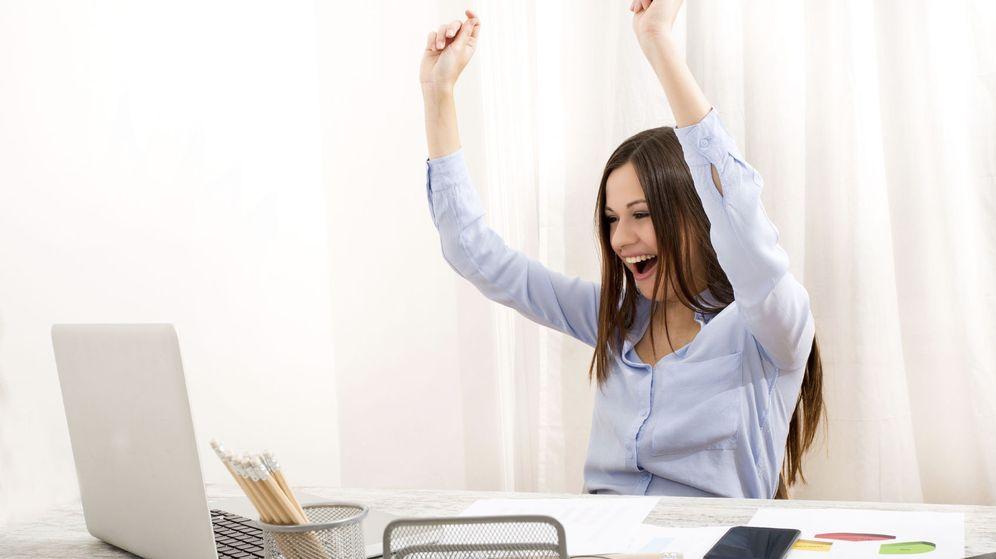 Foto: La felicidad es indispensable para triunfar en todos los niveles de la vida. (iStock)