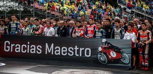 Post de El motociclismo se despide de Ángel Nieto con un doloroso minuto de silencio
