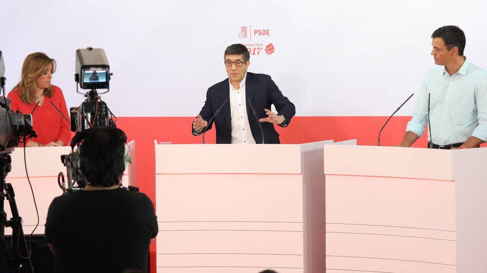 Las cinco claves del áspero debate a tres del PSOE... vistas por los expertos