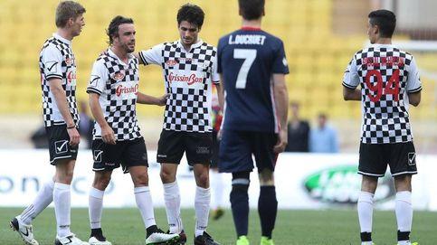 El golazo de falta de Fernando Alonso en Mónaco