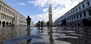 Post de El 'agua alta' no da tregua a Venecia y se espera una subida de 160 centímetros