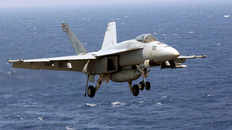 Así es el F18 estrellado hoy en Madrid: un caza mítico con una historia negra detrás