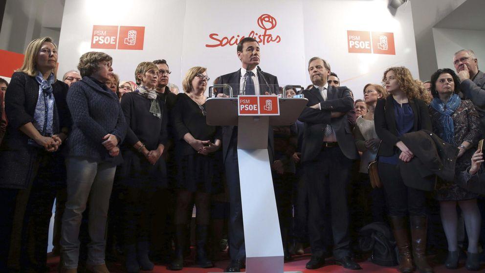 La foto de la criba en el socialismo de Madrid