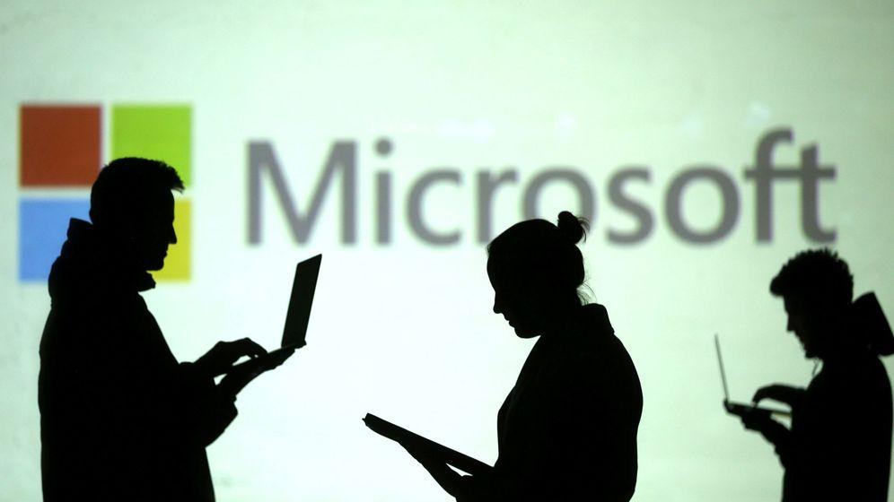 Foto: El logo de Microsoft. (Reuters)