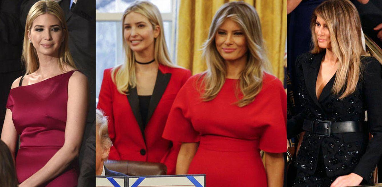 Foto: Melania e Ivanka Trump y sus looks