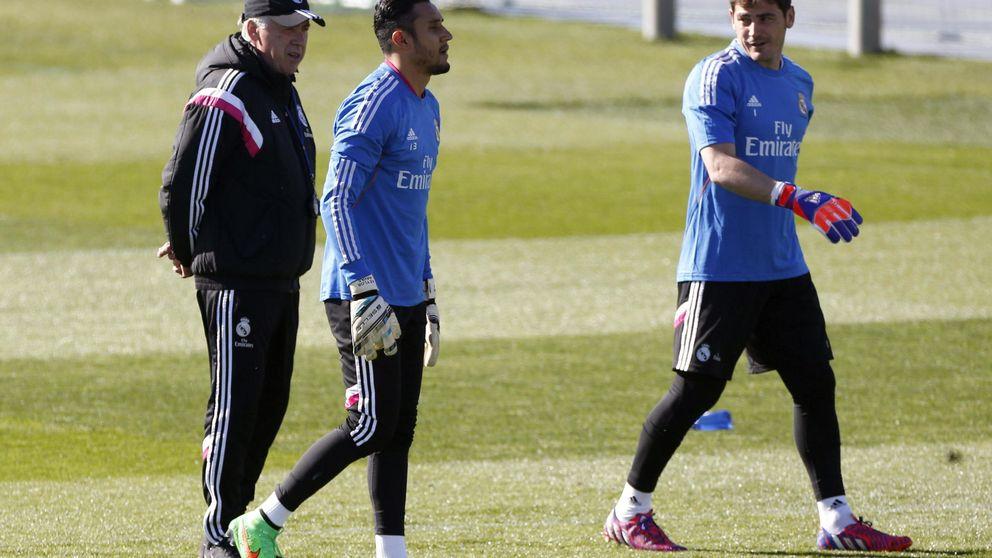 Ancelotti: Si ante el Levante juega Keylor , no es para señalar a nadie