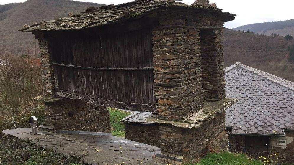 Foto: Otra aldea de Lugo recogida en la página. Foto: Aldeas Abandonadas.