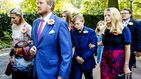 Máxima y Guillermo de Holanda, muy afectados en el funeral de la princesa Cristina