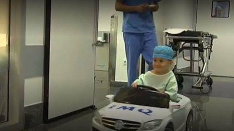 En Bilbao los niños van en volante en vez de en camilla al quirófano