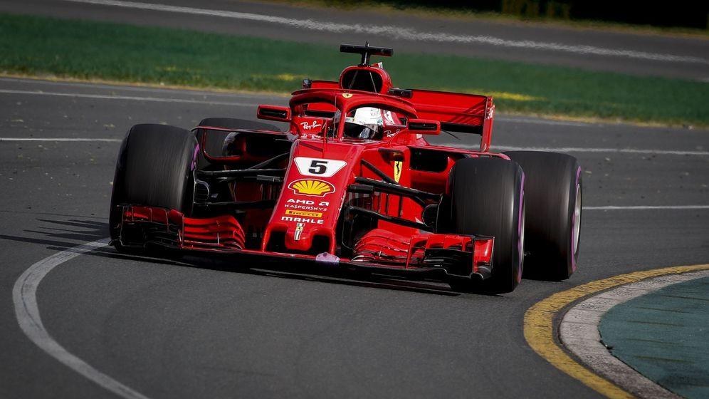 Foto: Las mejores imágenes del llamativo GP de Australia de F1