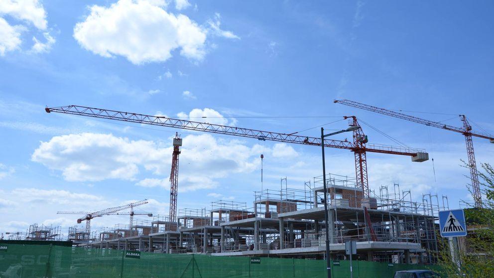 La resurrección inmobiliaria en Madrid: 242 proyectos en marcha y 244 grúas