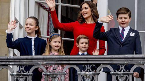 La infanta Sofía y Josephine de Dinamarca, dos princesitas y un vestido