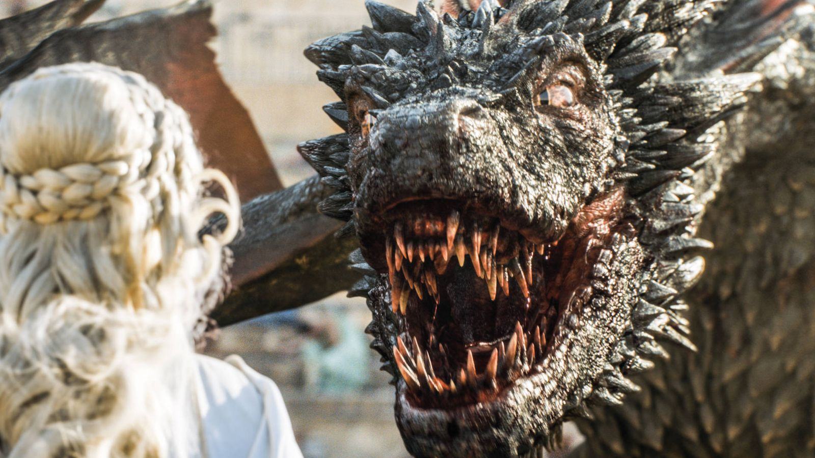 Foto: Imagen de Drogon, uno de los dragones de Daenerys Targaryen en 'Juego de tronos'