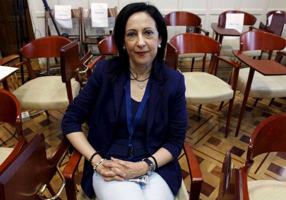 Foto: La exvocal del Consejo General del Poder Judicial Margarita Robles y nueva dos por Madrid del PSOE en Madrid, en julio de 2010. (EFE)