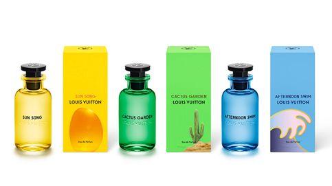 Tres nuevas fragancias de Louis Vuitton celebran el verano, el viaje y el placer