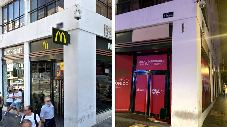 Cierra el primer McDonald's de España (Gran Vía) y se cambia a un local más grande