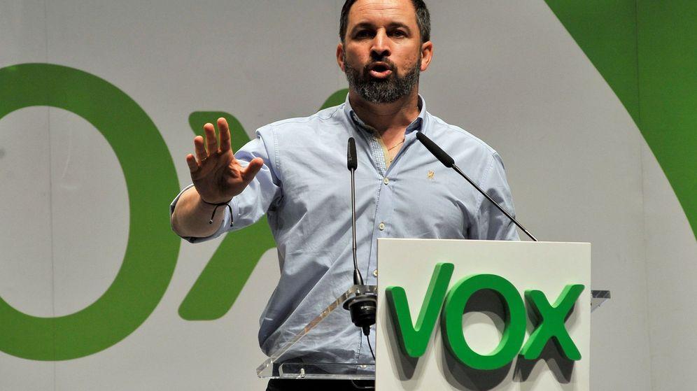 Foto: El presidente de Vox, Santiago Abascal (Efe)