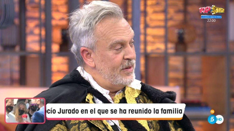 Enrique del Pozo, colaborador de 'Viva la vida'. (Mediaset España)
