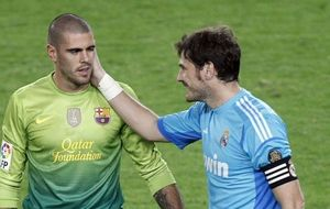 Valdés y Casillas se disputaránel título a mejor portero 2013