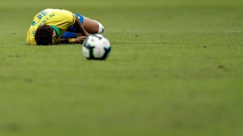 Semana negra para Neymar: de la denuncia por violación, a la lesión de tobillo