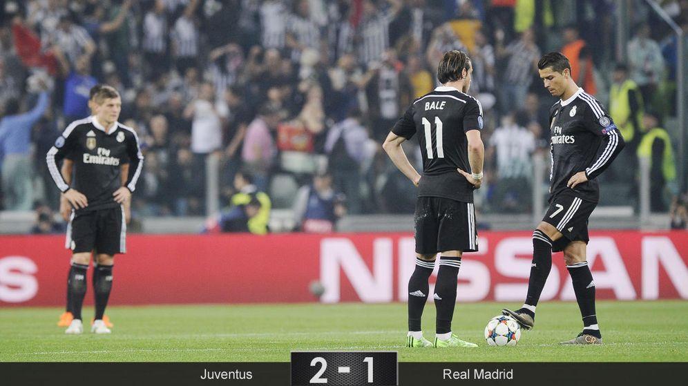 Foto: El Madrid pincha en hueso con la Juventus y tendrá que remontar en el Bernabéu