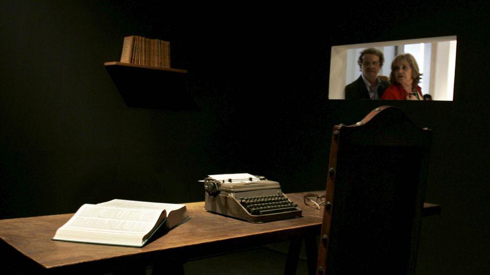 Foto: La máquina de escribir de Saramago. (EFE)