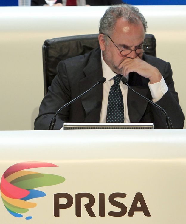 Foto: Ignacio Polanco, presidente de Prisa (EFE).