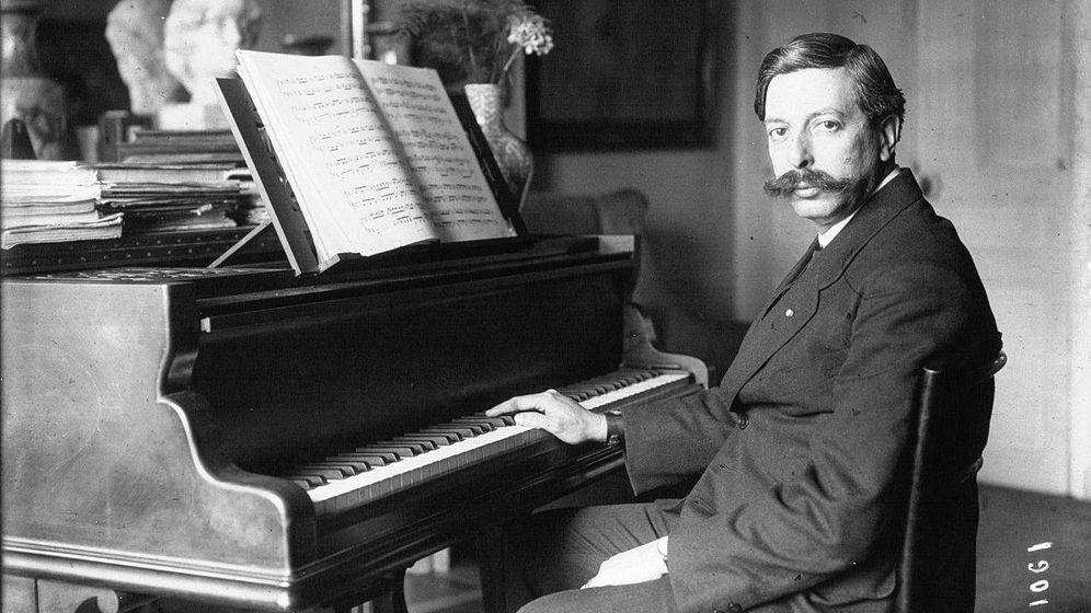 Foto: El músico, en 1914. (Wikipedia)