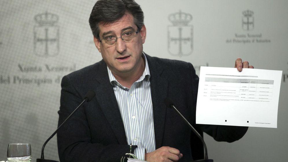 Foto: El diputado de UPyD en el Parlamento asturiano, Ignacio Prendes. (EFE)