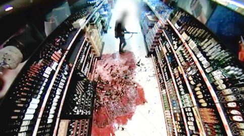 El vídeo del perturbado que entró en el Mercadona de Orense pegando tiros