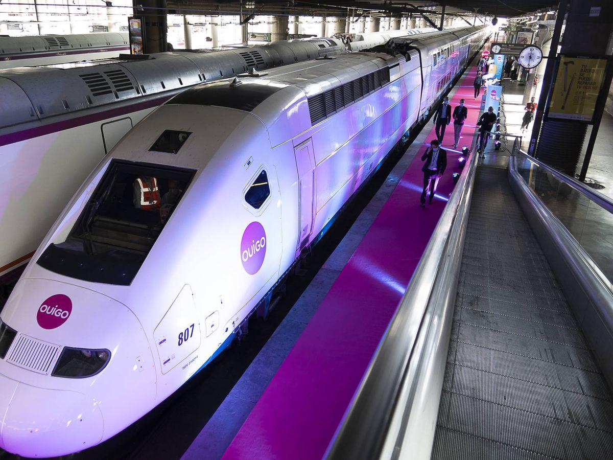 Foto: Uno de los trenes de la flota de la francesa SNCF.