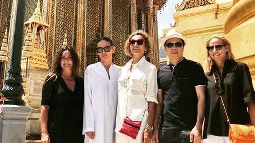 El impresionante viaje por Tailandia de Naty Abascal, Fiona Ferrer y Laura Ponte