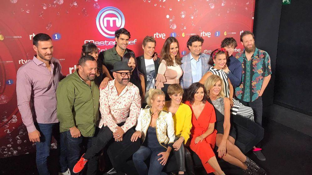 Foto: Presentación de la segunda edición de 'MasterChef'. (EL CONFI TV)