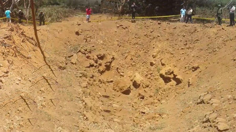 El fragmento de un asteroide crea un inmenso cráter en Nicaragua