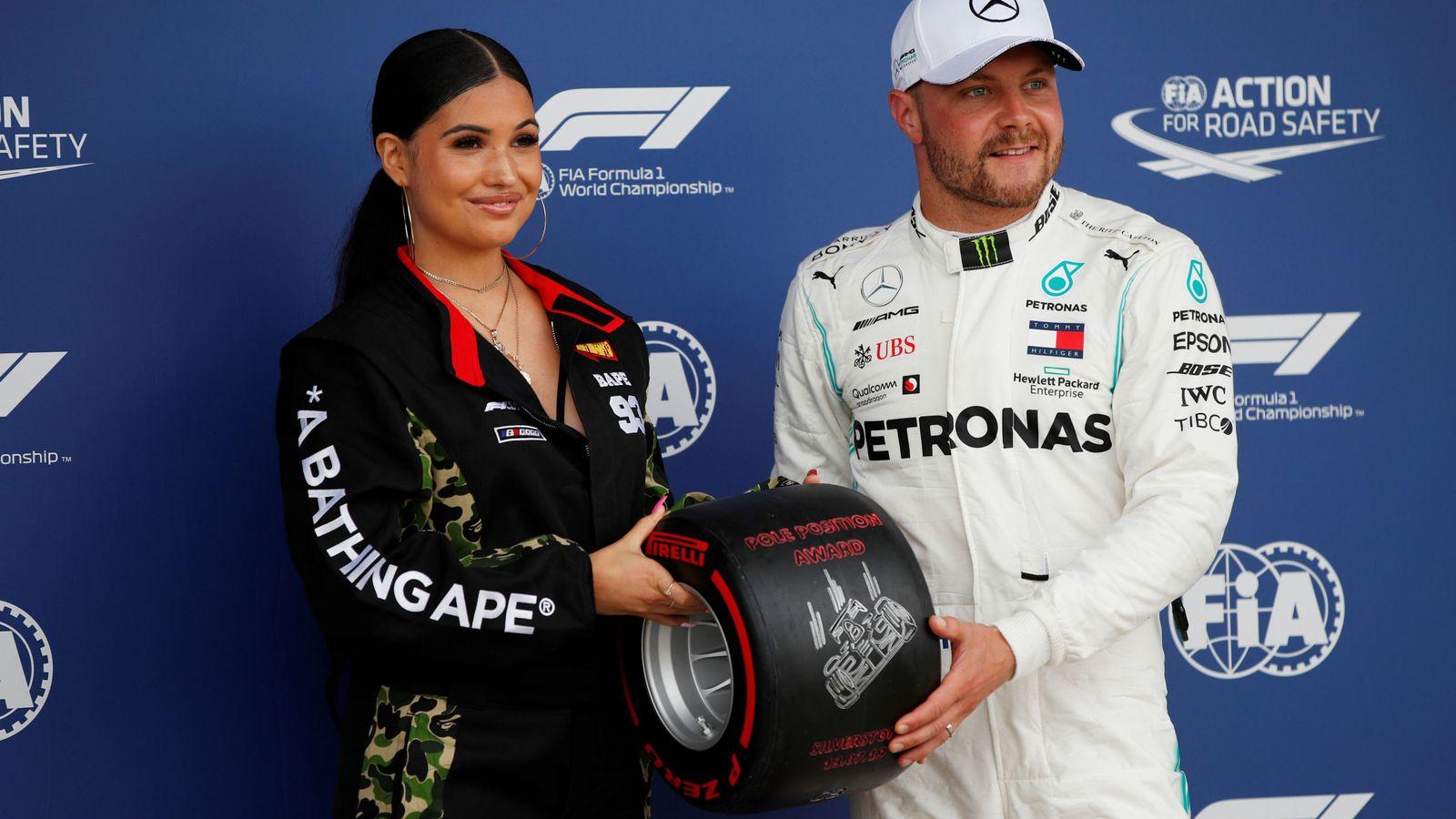 Foto: Valtteri Bottas celebró una nueva pole con Mercedes. (Reuters)