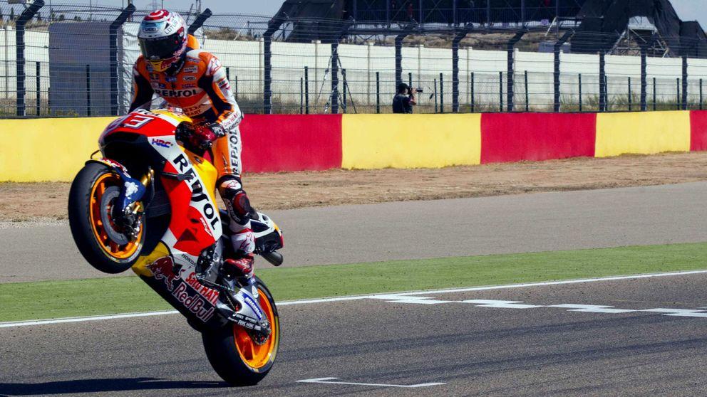 Márquez y Honda, con el título de 2016 en el bolsillo y trabajando ya para 2017