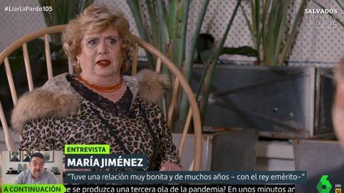 María Jiménez, en La Sexta: Que los políticos se pongan primero la vacuna