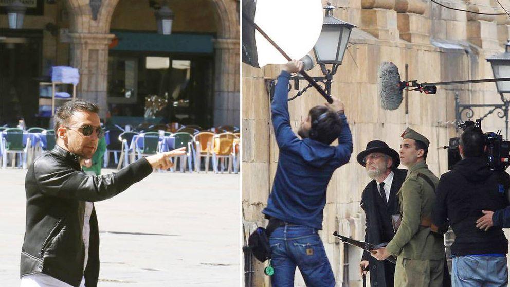 Amenábar arranca en Salamanca su rodaje sobre Unamuno y Franco en la Guerra Civil