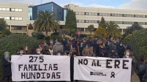 Los docentes de la Europea planean huelgas contra el ERE a 275 empleos