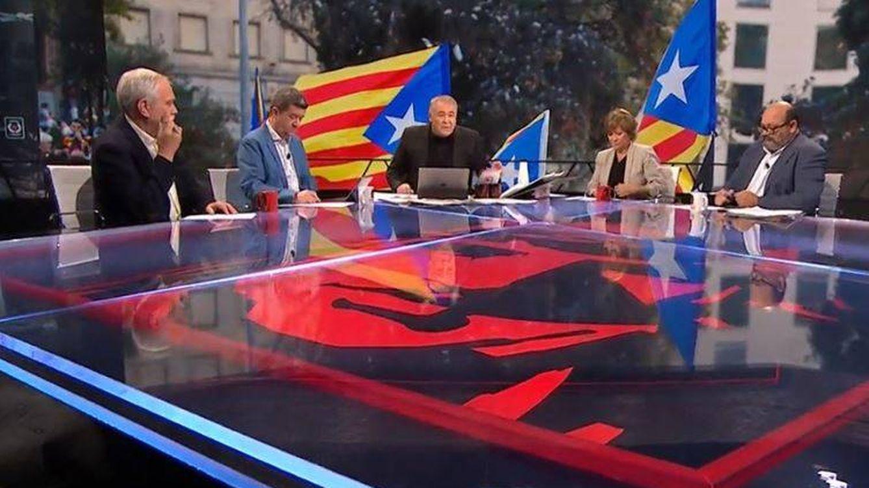 Ferreras (también) sale en defensa de la periodista de Telecinco agredida en Cataluña