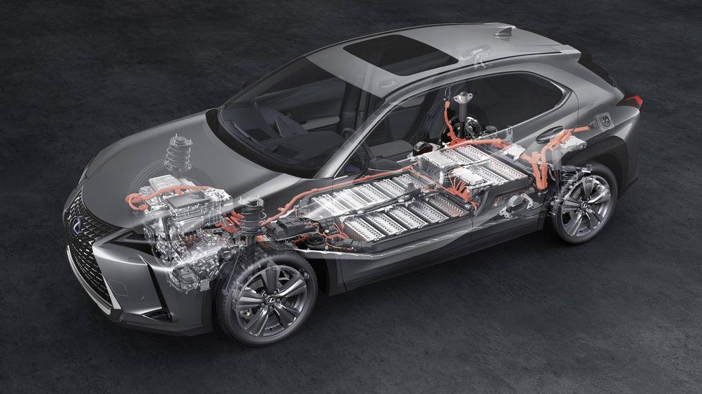 Foto: Configuración mecánica de un Lexus.